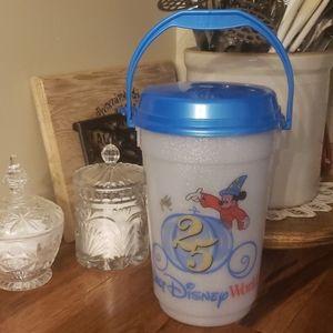 Disney World 25th Anniversary Popcorn Bucket